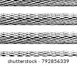 black and white grunge texture. ... | Shutterstock .eps vector #792856339