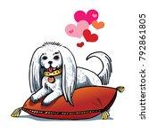 vector illustration on the... | Shutterstock .eps vector #792861805