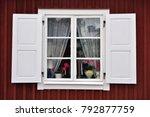 Scandinacian White Window With...