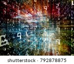 digital city series. abstract... | Shutterstock . vector #792878875