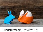 Two Colorful Origami Easter...