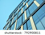 modern office building | Shutterstock . vector #792900811