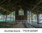 Picnic Benches Located Under A...