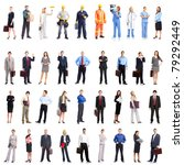 group of smiling business... | Shutterstock . vector #79292449