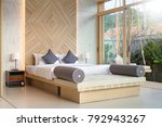luxury interior design in... | Shutterstock . vector #792943267