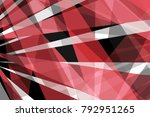 abstract modern black red and... | Shutterstock . vector #792951265