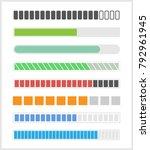 loading bar for web  download... | Shutterstock .eps vector #792961945