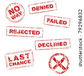 a collection of rubber stamps...   Shutterstock .eps vector #79296832