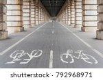 Bike Path Under Bercy Bridge I...