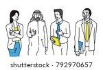 vector illustration character... | Shutterstock .eps vector #792970657