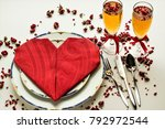 Setting A Romantic Table With...