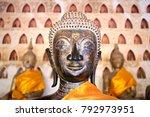 buddha statue at wat si saket... | Shutterstock . vector #792973951