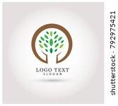 tree   nature logo. symbol  ...   Shutterstock .eps vector #792975421