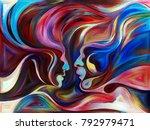 flight of love series.... | Shutterstock . vector #792979471