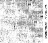 grunge black white. monochrome... | Shutterstock . vector #792983395