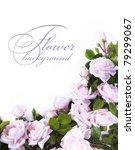 art flower background for... | Shutterstock . vector #79299067