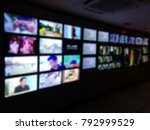 blur images of multiple... | Shutterstock . vector #792999529
