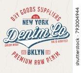 denim co. dry goods suppliers   ...   Shutterstock .eps vector #793004944