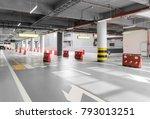 passageway in the underground... | Shutterstock . vector #793013251