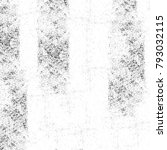 grunge texture. black and white ... | Shutterstock . vector #793032115