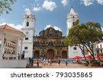 panama city   panama   january... | Shutterstock . vector #793035865