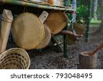 there are many kind of basket... | Shutterstock . vector #793048495