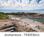 clovelly  sydney  australia  06 ... | Shutterstock . vector #793055611