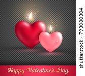 Valentine's Day Concept. Vector ...