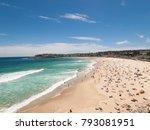 sydney bondi beach  australia ... | Shutterstock . vector #793081951