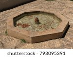 A Historical Fountain At The...