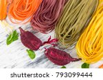 Colored Raw Vegetable...