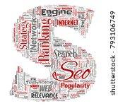 vector conceptual search... | Shutterstock .eps vector #793106749