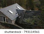 corris  gwynedd  wales  uk.  12 ... | Shutterstock . vector #793114561