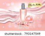 premium luxury cosmetic ads... | Shutterstock .eps vector #793147549
