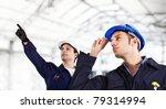 engineers at work | Shutterstock . vector #79314994