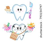 ramadan kareem    healthy and...   Shutterstock .eps vector #793154797