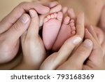 the legs of the child in the... | Shutterstock . vector #793168369