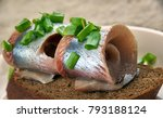 Stock photo silakkarulla finnish herrings rollmops from the biltian herring 793188124
