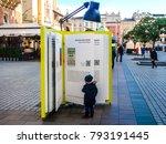 krakow  poland   nov 19  2017 ... | Shutterstock . vector #793191445