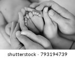the legs of the child in the... | Shutterstock . vector #793194739