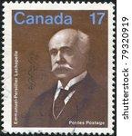 canada   circa 1980  stamp...   Shutterstock . vector #79320919