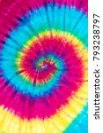 spiral tie dye pattern abstract ... | Shutterstock . vector #793238797