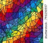 seamless background pattern.... | Shutterstock .eps vector #793250557