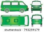 mini the bus. minibus for...   Shutterstock .eps vector #793259179