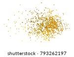 gold glitter isolated on white... | Shutterstock . vector #793262197