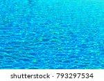 sea blue fresh salty summer... | Shutterstock . vector #793297534