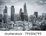 skyscrapers in london | Shutterstock . vector #793306795