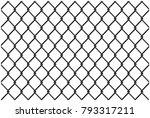fence   stock vector | Shutterstock .eps vector #793317211