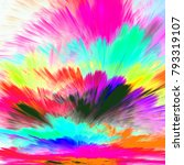 the colors in the series  fancy ... | Shutterstock . vector #793319107