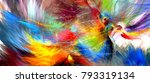 the colors in the series  fancy ... | Shutterstock . vector #793319134